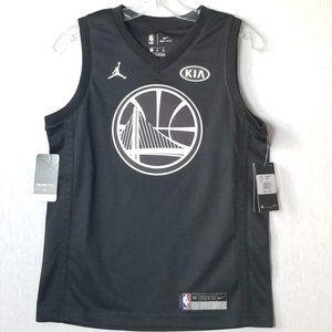 Nike Youth Jordan Curry 9Z2B7BY3P warriors jersey